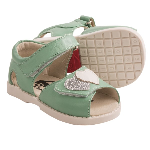 See Kai Run Penelope Sandals - Leather (For Toddler Girls)