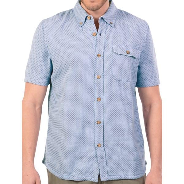 Gramicci Vert Cross Weave Shirt - Cotton, Short Sleeve (For Men)