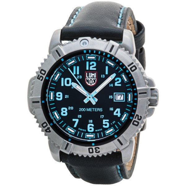 Luminox Colormark Watch - Leather Strap (For Women)