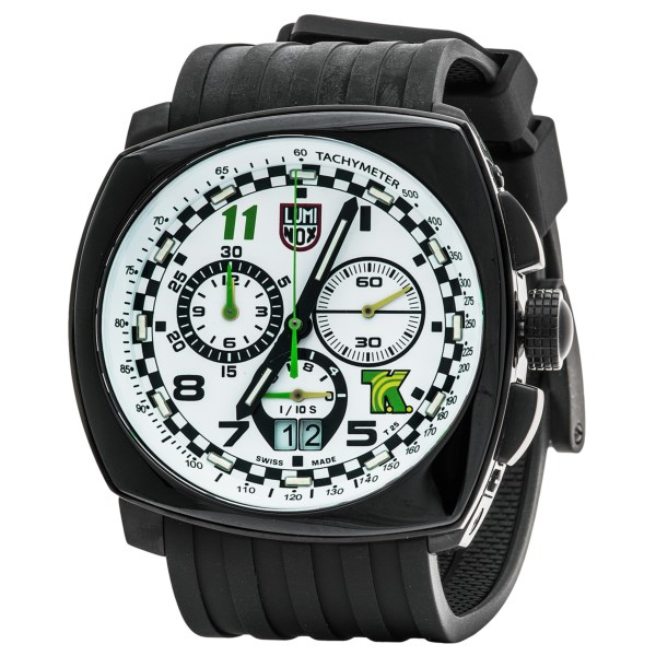 Luminox 1147 Field Chronograph Watch Rubber Strap (For Men)