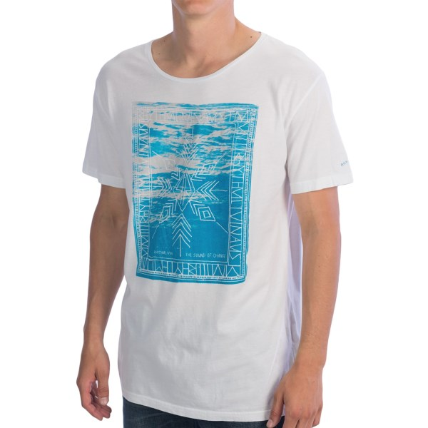 Rhythm Liquid Arrow Cotton T-Shirt - Short Sleeve (For Men)