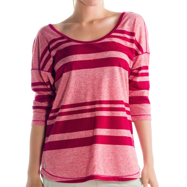 Lole Mirage Shirt - Dri-Release(R), FreshGuard(R), 3/4 Sleeve (For Women)