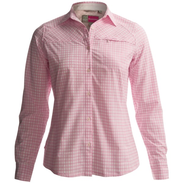 Craghoppers NosiLife Check Shirt - UPF 40 , Long Sleeve (For Women)