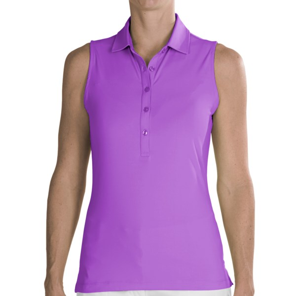 Fairway and Greene Natalie Polo Shirt - Sleeveless (For Women)