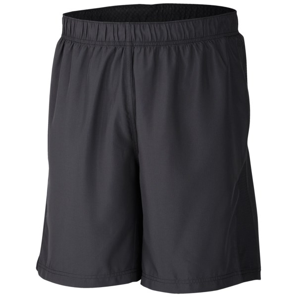 CLOSEOUTS . Columbia Sportswearand#39;s Zero Rules shorts donand#39;t care for those normal-shorts restrictions. Their sweat-activated cooling technology and superlight, super-breathable inner brief bust through every expectation to instantly dry, cool and comfort you from waistband to hemline. Available Colors: BLACK, INDIA INK, DARK MOSS. Sizes: S, L, 2XL, XL, M.