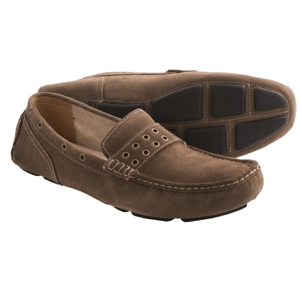 Andrew Marc Grove Suede Loafers (For Men)