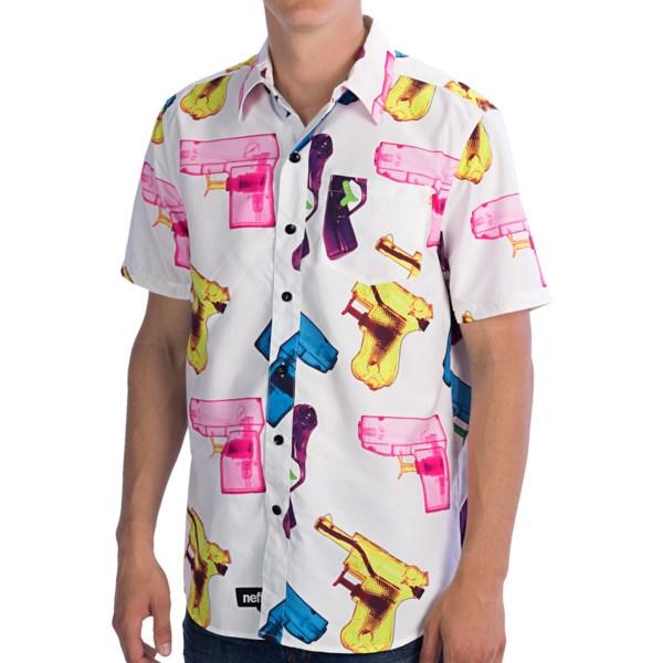 Neff P-shooter Shirt - Short Sleeve (for Men)