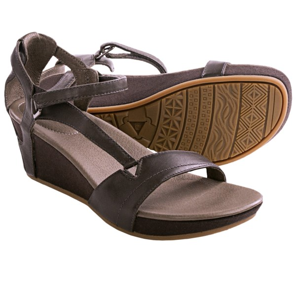 9355ad38ce02 UPC 887278649540 - Teva Capri Wedge (Black Olive) Women s Wedge ...