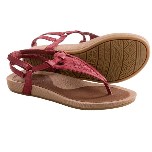 Teva Capri Sandals - Leather (For Women)