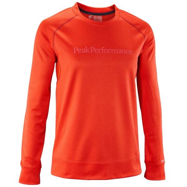 Peak Performance Bivval Mid-Layer Shirt - Crew Neck, Long Sleeve (For Men)