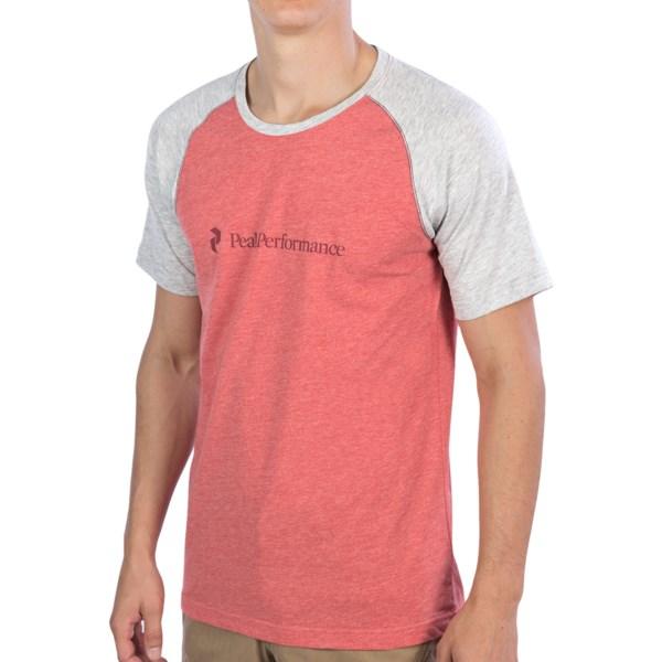 Peak Performance Track T-Shirt - Short Sleeve (For Men)