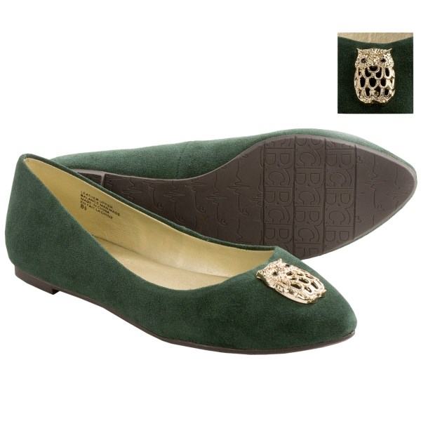 BC Footwear Tempo Flats - Suede (For Women)