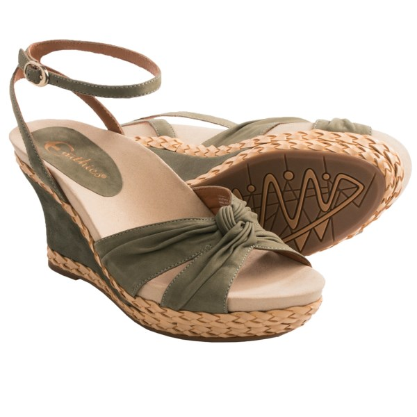 Earthies Sonzi Wedge Sandals (For Women)