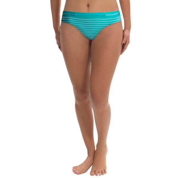 JAG Stripe Bikini Bottoms (For Women)