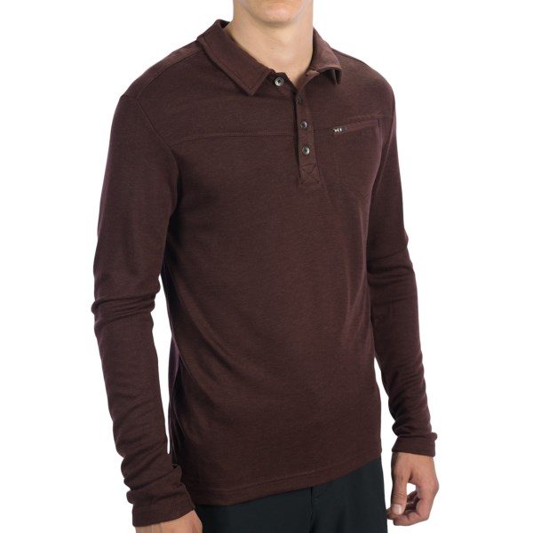 Royal Robbins Duke Polo Shirt - Long Sleeve (for Men)