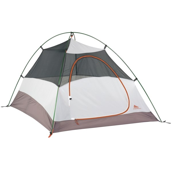 CLOSEOUTS . Keltyand#39;s Grand Mesa 3 tent is lightweight, but designed with a multitude of features that allow you to explore the backcountry without breaking the bank. The freestanding design excels on varied terrain, the No-See-Umand#174; mesh incorporates a single andquot;Dandquot; door for easy entry and exit, and color-coded clip construction allows for hassle-free set up. Available Colors: SEE PHOTO.