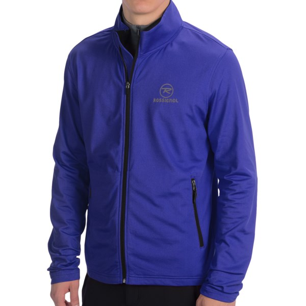 CLOSEOUTS . Rossignoland#39;s Clim jacket is a versatile, lightweight layer of warmth ideal for cool-weather activities thanks to the breathable, moisture-wicking Stretch Clim fabric. The fleece lining boosts the comfort level, and zip pockets keep your essentials secure. Available Colors: 200 BLACK, 300 RED, 758 SPEED. Sizes: S, M, L, XL, 2XL.