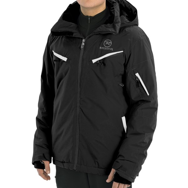 CLOSEOUTS . Get familiar with the entire mountain in Rossignoland#39;s Experience ski jacket. With waterproof breathable protection, Thinsulateand#174; insulation and pit zips to keep you comfortable, youand#39;ll be a resort veteran in no time. Available Colors: BLACK, RED, SPEED. Sizes: S, M, L, XL, 2XL.