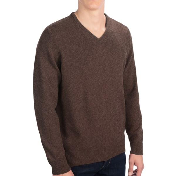 Clan Douglas Cashmere Sweater - V-neck (for Men)
