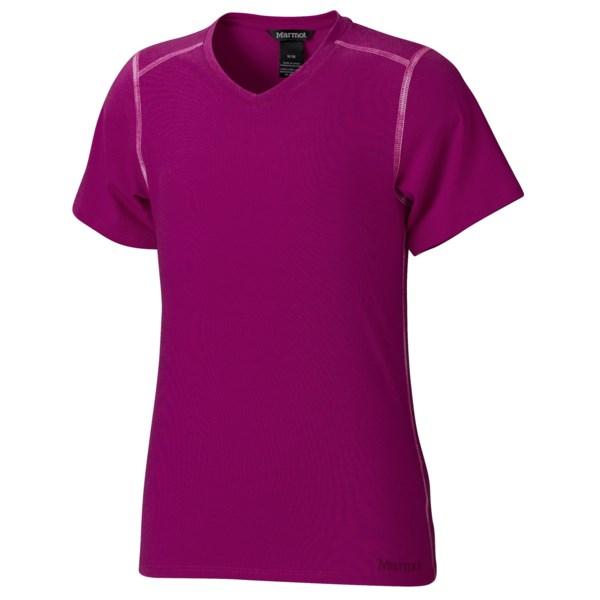 Marmot Jaden T-Shirt - Short Sleeve (For Girls)