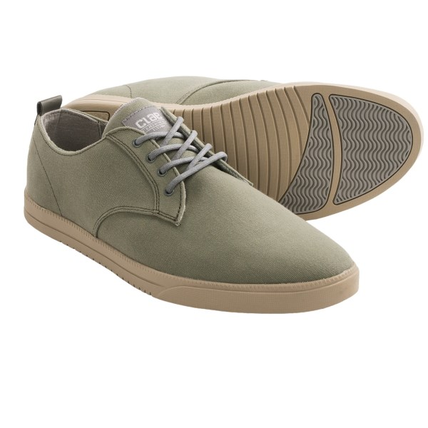 CLOSEOUTS . Take the canvas shoe party to the next level with Claeand#39;s Ellington shoes. Become the duke of the bandstand as you blow away all the other cool kids at the dance. Available Colors: CHALKBOARD CANVAS. Sizes: 8, 8.5, 9, 9.5, 10, 11.
