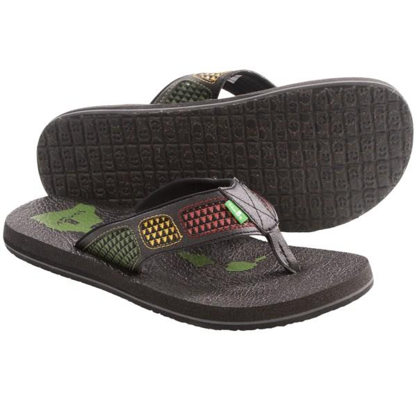 Sanuk Happy Hour Irie Sandals - Flip-Flops (For Men)