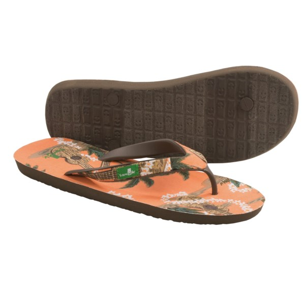 Sanuk Kona Sandals - Flip-Flops (For Men)