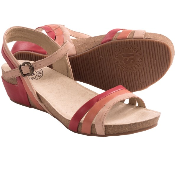 Josef Seibel Maxima 02 Strappy Sandals - Leather (for Women)