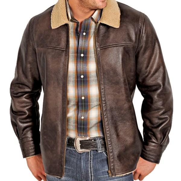 Panhandle Slim Faux-fur Coat - Berber Fleece Lining (for Men)