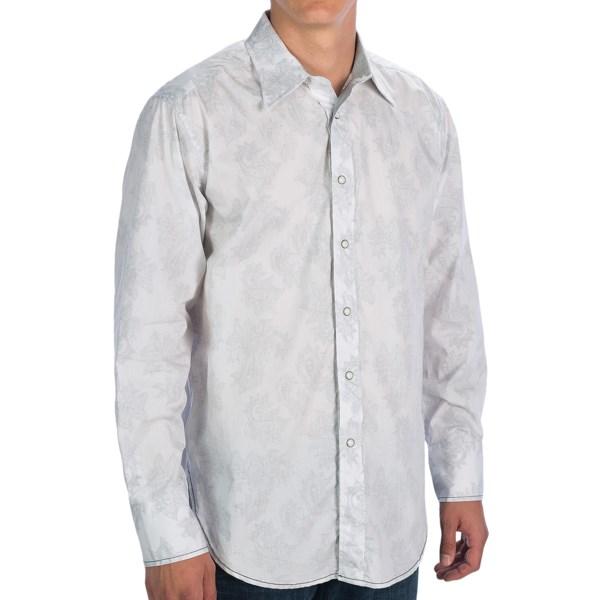 Panhandle Slim 90 Proof Reverse Print Shirt - Snap Front, Long Sleeve (For Men)