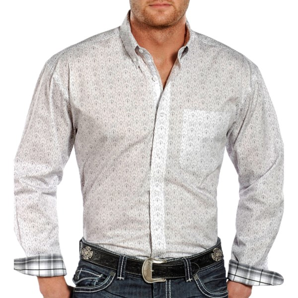 Rough Stock by Panhandle Slim Voltaire Vintage Shirt - Button Down, Long Sleeve (For Men)