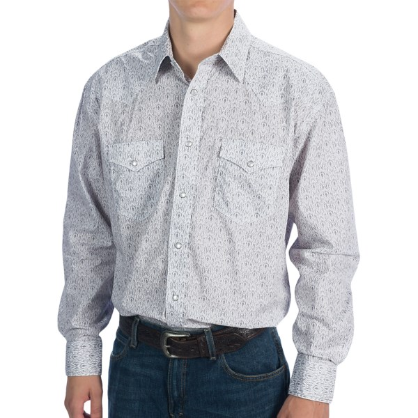 Rough Stock by Panhandle Slim Voltaire Vintage Shirt - Snap Front, Long Sleeve (For Men)