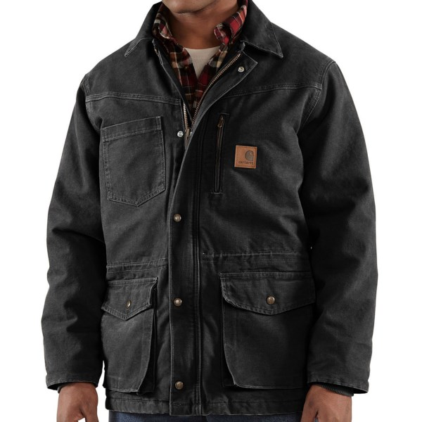 Carhartt Rancher Sandstone Coat - Insulated (for Big Men)