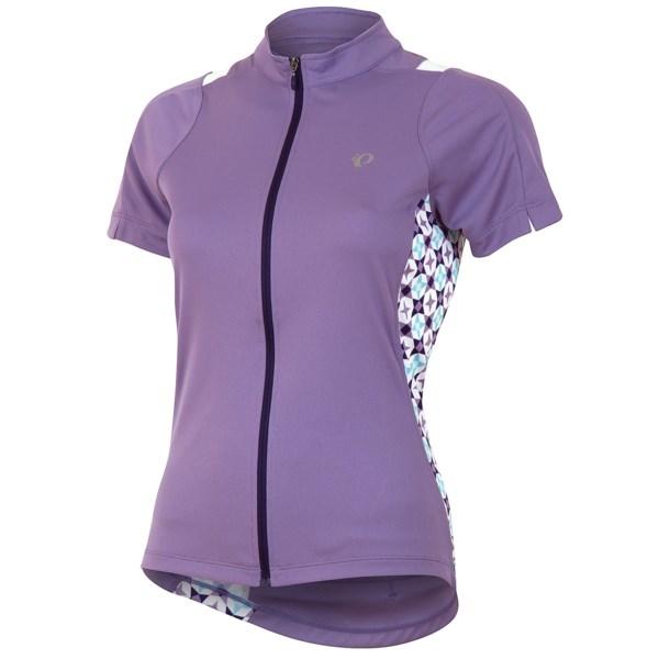 Pearl Izumi SELECT Print Cycling Jersey - UPF 50, Full Zip, Short Sleeve (For Women)