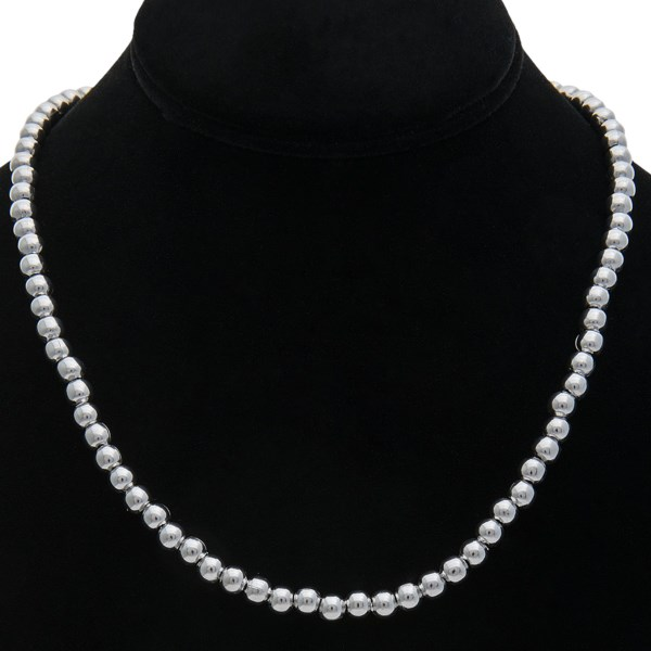 Aluma Usa Stainless Steel Bead Necklace 18 image