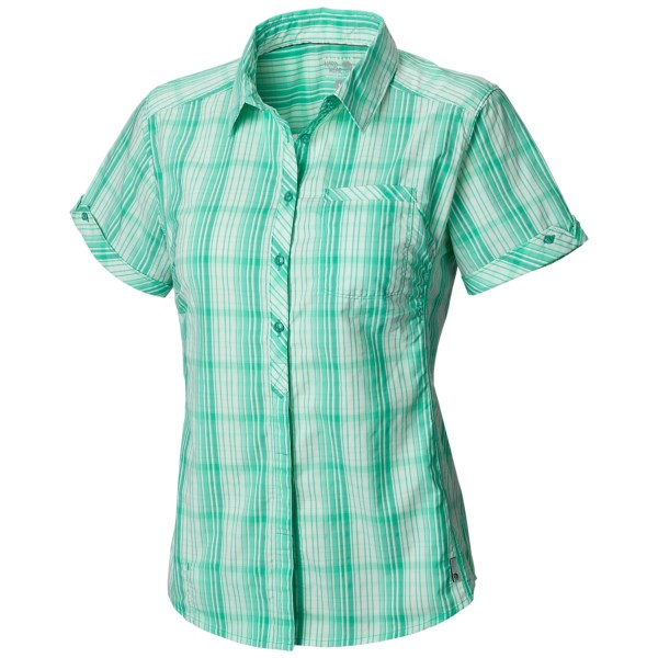 Mountain Hardwear Terralake Tech Shirt - UPF 30, Short Sleeve (For Women)
