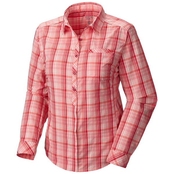 photo: Mountain Hardwear Terralake Tech Long Sleeve Shirt