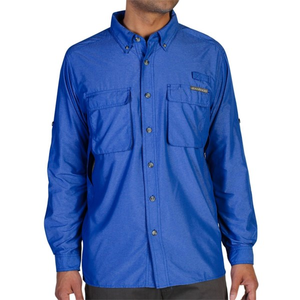 Exofficio Air Strip Shirt - Upf 30 , Long Sleeve (for Men)
