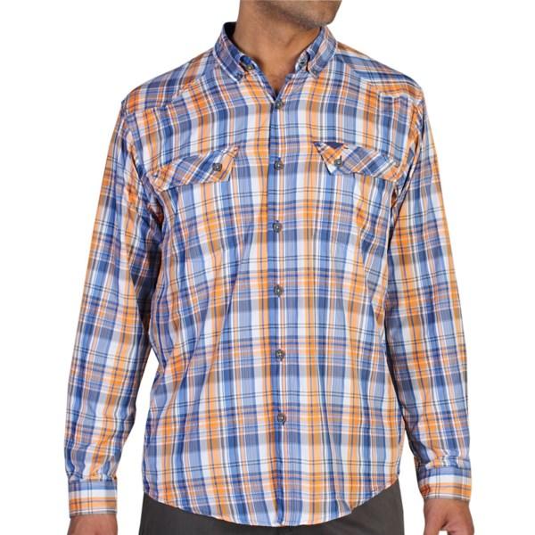 ExOfficio Minimo Plaid Shirt - UPF 50 , Long Sleeve (For Men)