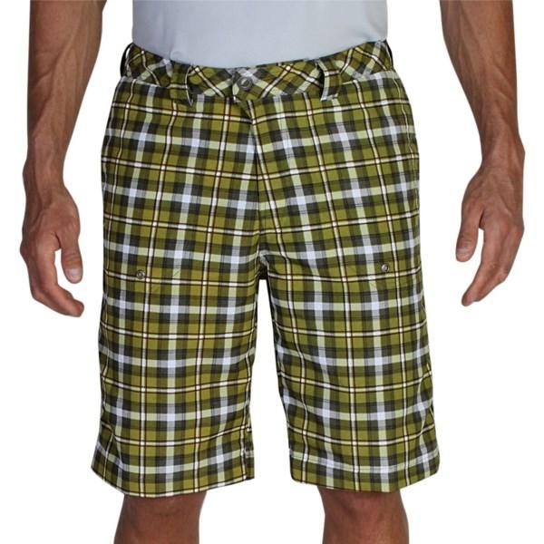 ExOfficio Lacuna Plaid Shorts - UPF 30  (For Men)