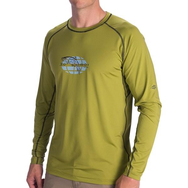 ExOfficio Sol Cool Fish Printed Graphic T-Shirt - UPF 50 , Long Sleeve (For Men)