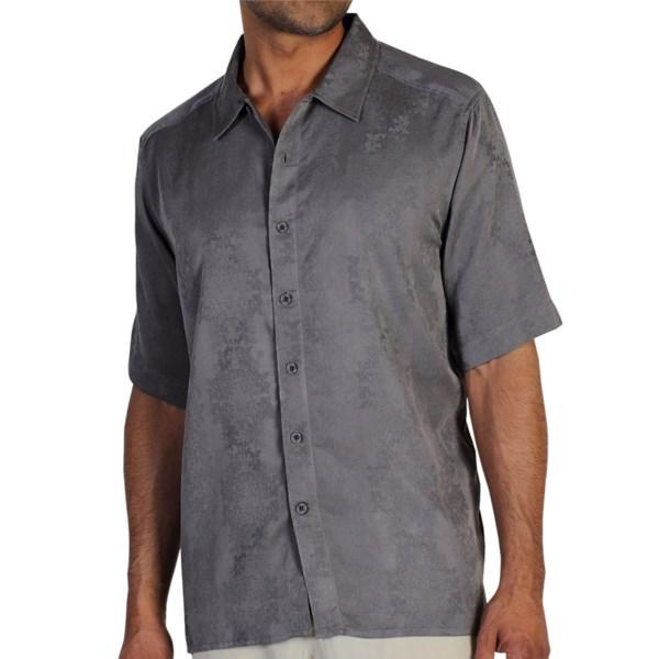 ExOfficio Pisco Jacquard Shirt - Wrinkle Resistant, Short Sleeve (For Men)