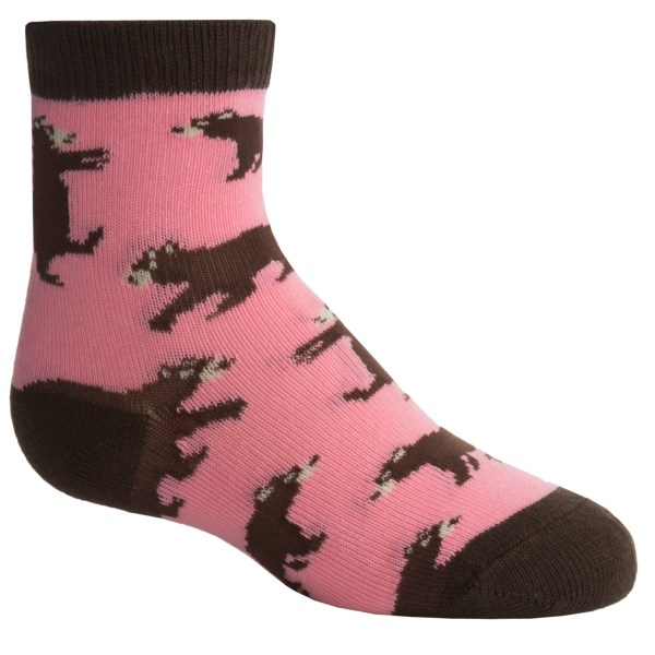 Wild And Cozy By Hatley Bears Socks - Crew (for Kids)