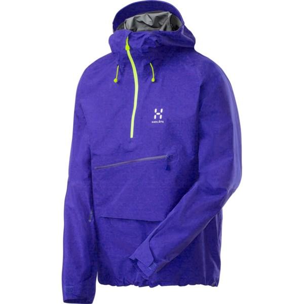 Haglofs Roc Lite Gore-Tex(R) Pullover - Waterproof, Zip Neck (For Men)
