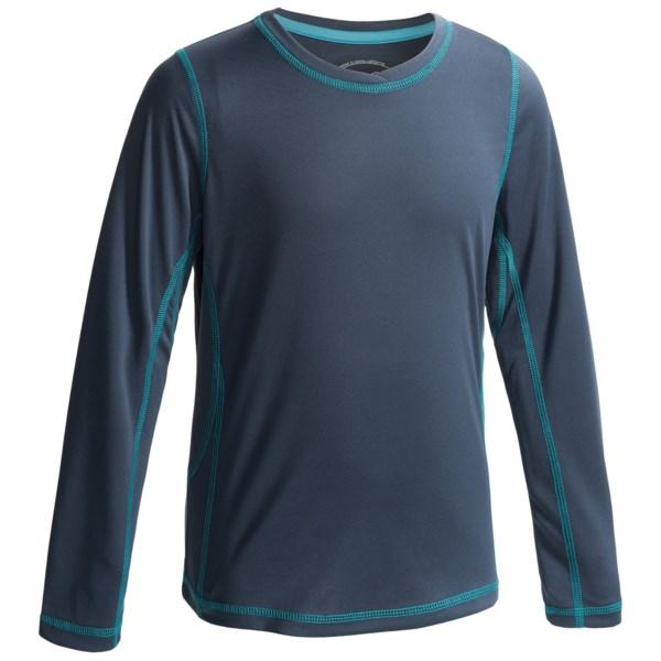 White Sierra Sun Buster Shirt - Long Sleeve (for Girls)