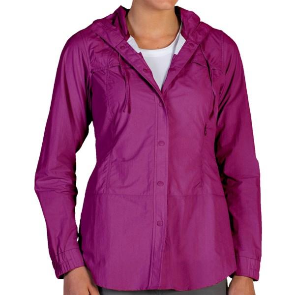 ExOfficio Abrizia Hooded Sun Shirt - UPF 30 , Long Sleeve (For Women)