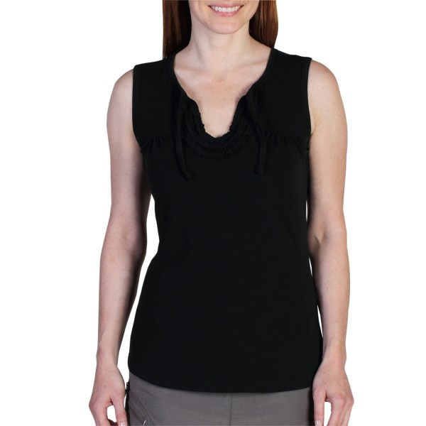 ExOfficio Go-To Ruffle Tank Top (For Women)
