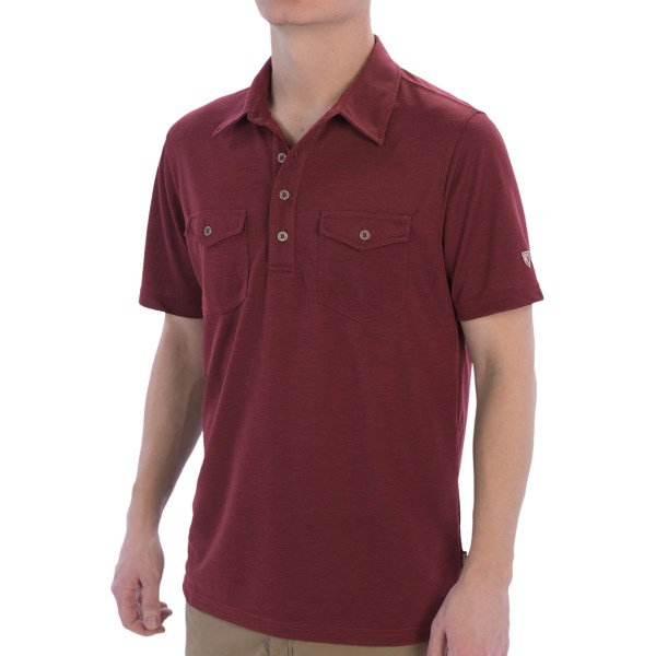 Kuhl Force Polo Shirt - UPF 30, Short Sleeve (For Men)
