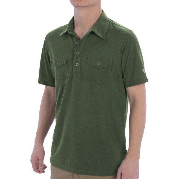 Kuhl Force Polo Shirt - UPF 30, Short Sleeve (For Men)