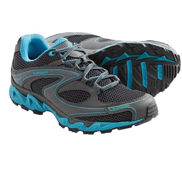 photo of a Lowa trail running shoe
